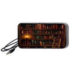 Books Library Portable Speaker (Black)