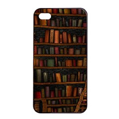 Books Library Apple iPhone 4/4s Seamless Case (Black)