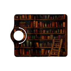 Books Library Kindle Fire HD (2013) Flip 360 Case