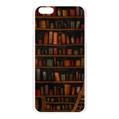 Books Library Apple Seamless iPhone 6 Plus/6S Plus Case (Transparent)