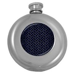 BRK2 BK-MRBL BL-BRSH Round Hip Flask (5 oz)