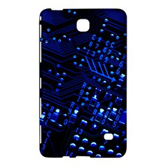 Blue Circuit Technology Image Samsung Galaxy Tab 4 (7 ) Hardshell Case
