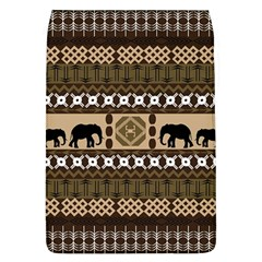 Elephant African Vector Pattern Flap Covers (L)