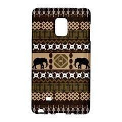 Elephant African Vector Pattern Galaxy Note Edge