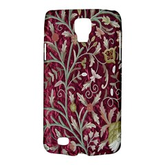 Crewel Fabric Tree Of Life Maroon Galaxy S4 Active