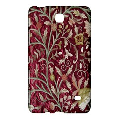 Crewel Fabric Tree Of Life Maroon Samsung Galaxy Tab 4 (8 ) Hardshell Case