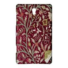 Crewel Fabric Tree Of Life Maroon Samsung Galaxy Tab S (8.4 ) Hardshell Case