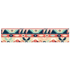 Aztec Pattern Flano Scarf (Small)