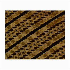 Traditional Art Indonesian Batik Small Glasses Cloth