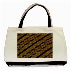 Traditional Art Indonesian Batik Basic Tote Bag