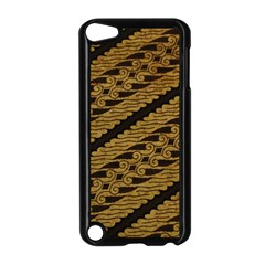 Traditional Art Indonesian Batik Apple iPod Touch 5 Case (Black)