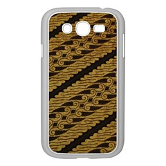 Traditional Art Indonesian Batik Samsung Galaxy Grand DUOS I9082 Case (White)