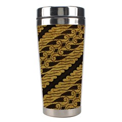 Traditional Art Indonesian Batik Stainless Steel Travel Tumblers
