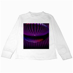 Glass Ball Texture Abstract Kids Long Sleeve T-Shirts