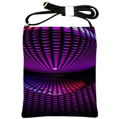 Glass Ball Texture Abstract Shoulder Sling Bags