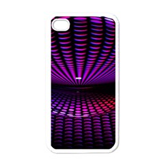 Glass Ball Texture Abstract Apple iPhone 4 Case (White)