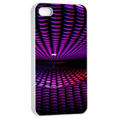 Glass Ball Texture Abstract Apple iPhone 4/4s Seamless Case (White)