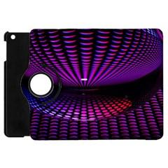 Glass Ball Texture Abstract Apple iPad Mini Flip 360 Case