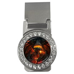 Dragon Legend Art Fire Digital Fantasy Money Clips (CZ)