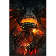Dragon Legend Art Fire Digital Fantasy 5.5  x 8.5  Notebooks
