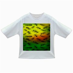 Insect Pattern Infant/Toddler T-Shirts