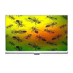 Insect Pattern Business Card Holders