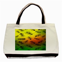 Insect Pattern Basic Tote Bag (Two Sides)