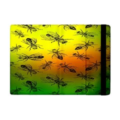 Insect Pattern Apple iPad Mini Flip Case