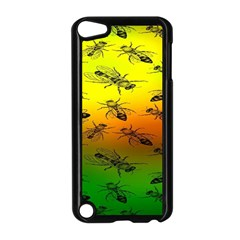 Insect Pattern Apple iPod Touch 5 Case (Black)