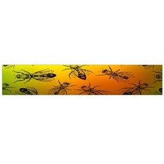 Insect Pattern Flano Scarf (Large)