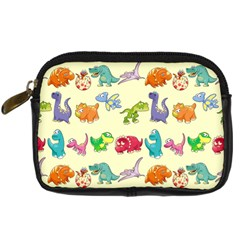 Group Of Funny Dinosaurs Graphic Digital Camera Cases