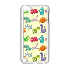 Group Of Funny Dinosaurs Graphic Apple iPod Touch 5 Case (White)