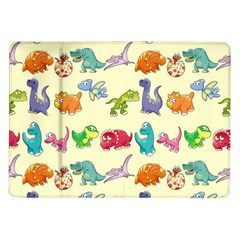 Group Of Funny Dinosaurs Graphic Samsung Galaxy Tab 10.1  P7500 Flip Case