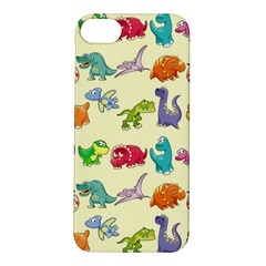 Group Of Funny Dinosaurs Graphic Apple iPhone 5S/ SE Hardshell Case