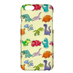 Group Of Funny Dinosaurs Graphic Apple iPhone 6 Plus/6S Plus Hardshell Case