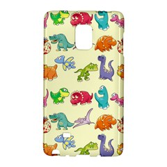 Group Of Funny Dinosaurs Graphic Galaxy Note Edge