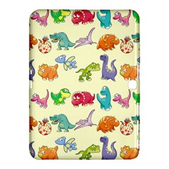 Group Of Funny Dinosaurs Graphic Samsung Galaxy Tab 4 (10.1 ) Hardshell Case