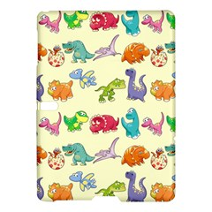 Group Of Funny Dinosaurs Graphic Samsung Galaxy Tab S (10.5 ) Hardshell Case