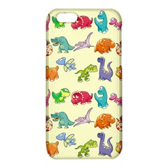 Group Of Funny Dinosaurs Graphic iPhone 6/6S TPU Case