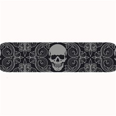 Dark Horror Skulls Pattern Large Bar Mats