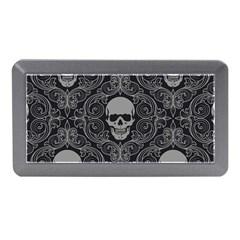 Dark Horror Skulls Pattern Memory Card Reader (Mini)