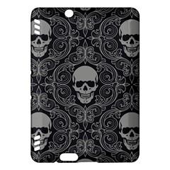 Dark Horror Skulls Pattern Kindle Fire HDX Hardshell Case
