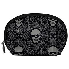 Dark Horror Skulls Pattern Accessory Pouches (Large)