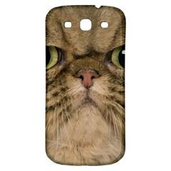 Cute Persian Catface In Closeup Samsung Galaxy S3 S III Classic Hardshell Back Case