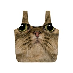 Cute Persian Catface In Closeup Full Print Recycle Bags (S)