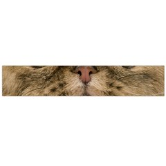 Cute Persian Catface In Closeup Flano Scarf (Large)