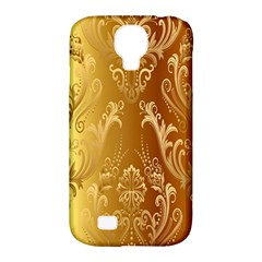 Golden Pattern Vintage Gradient Vector Samsung Galaxy S4 Classic Hardshell Case (PC+Silicone)