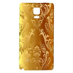 Golden Pattern Vintage Gradient Vector Galaxy Note 4 Back Case