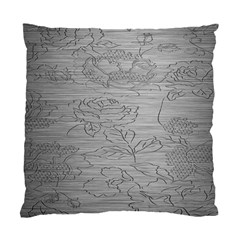 Embossed Rose Pattern Standard Cushion Case (Two Sides)
