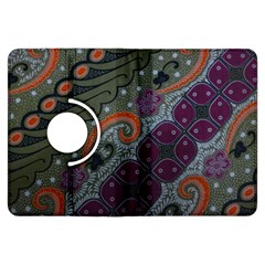 Batik Art Pattern  Kindle Fire HDX Flip 360 Case